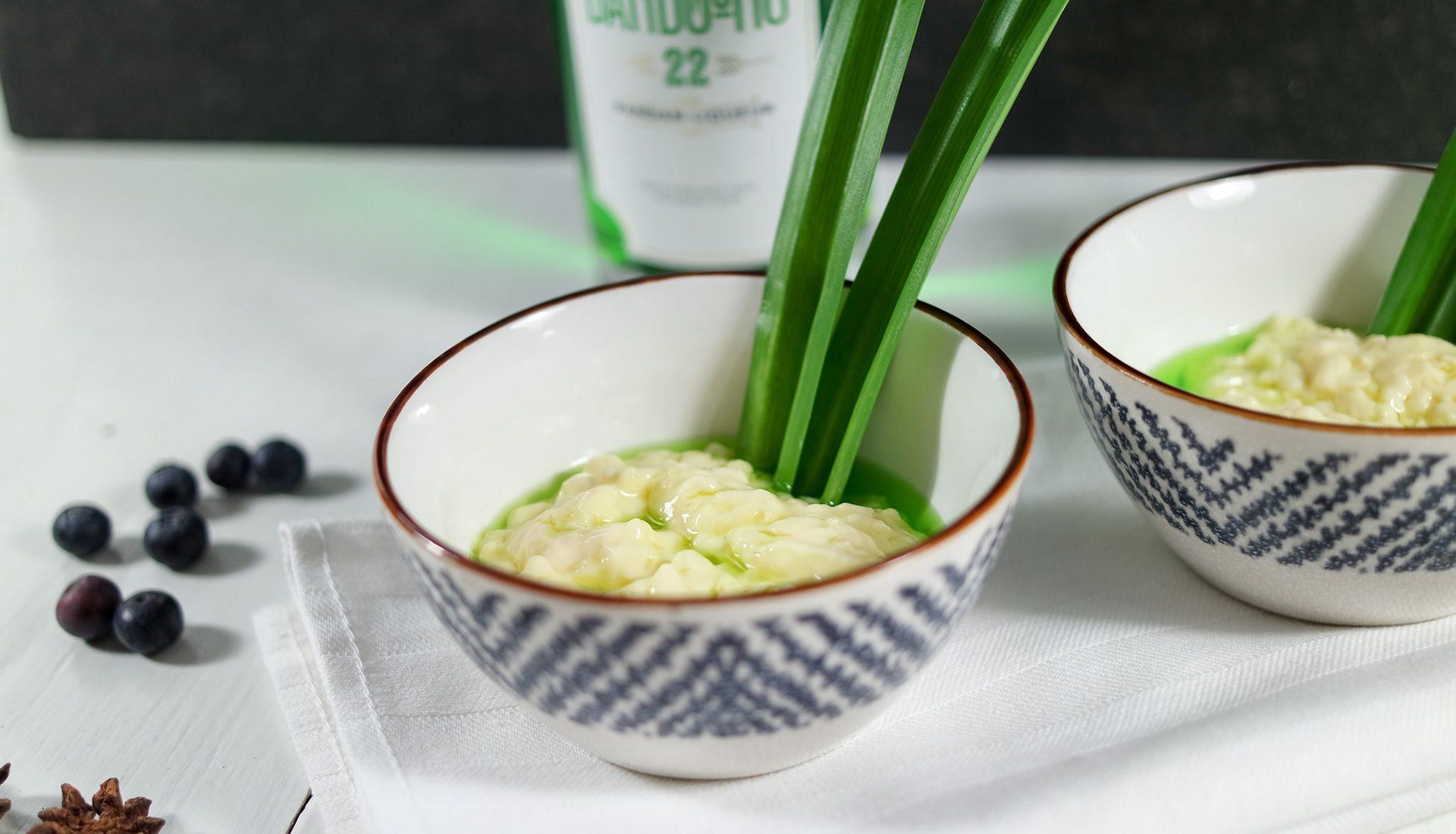 Bandoeng'22 Pandan Liqueur Rijstepap (porridge)