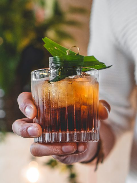 The Pandan Negroni, by Daryl Lieuw-On